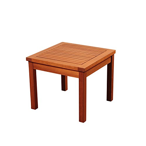 Amazonia Murano Eucalyptus Square Side Table