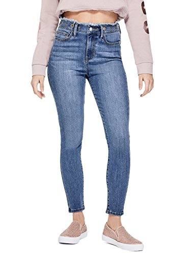 GUESS Factory Women's Aria High-Rise Grommet Skinny Jeans