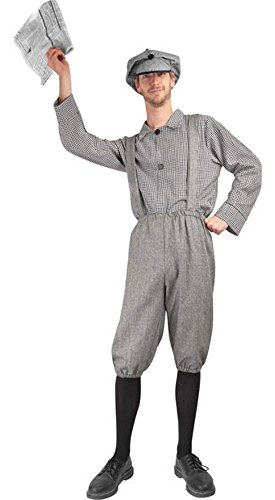 Adult Newsboy Halloween (Newsboy Costume)