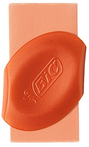 BIC Eraser with Grip, Assorted Colors, 4-Pack (BICERSGP41AST)