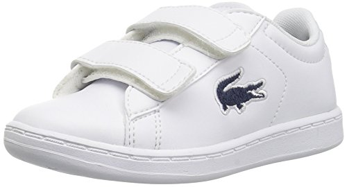 Lacoste Baby Carnaby EVO Sneaker Black Medium US Toddler 10