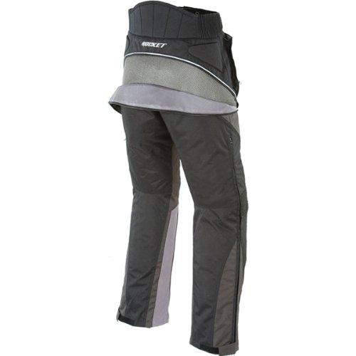 Joe Rocket Alter Ego 2.0 Men's Textile Sports Bike Racing Motorcycle Pants - Black / Short - Large