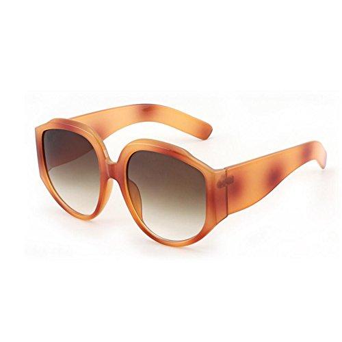HONEY Lunettes de soleil de personnalité pare-soleil style européen et américain - Retro Women's Glasses - Large Frame ( Couleur : A ) 6Nbxcyv