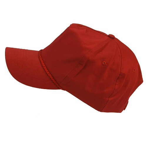 Cotton Twill Golf Cap - Gamet W39S56D (Cotton Cap Twill Panel Golf)