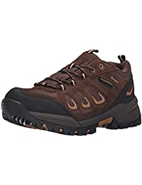 Propet Men's Ridge Walker Low Boot Brown 10 X (3E) & Oxy Cleaner Bundle