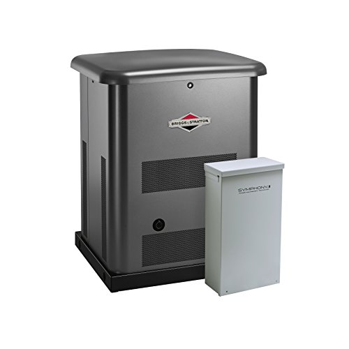 Briggs And Stratton Generac - Briggs & Stratton 40531 12kW Standby Generator with 200 Amp Symphony II Transfer Switch