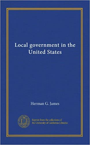 Download Reddit Books online: Local government in the United States B007QSKBSA PDF FB2