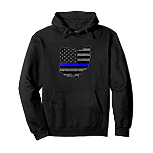 Ohio Police Officer's Department Hoodie Policemen