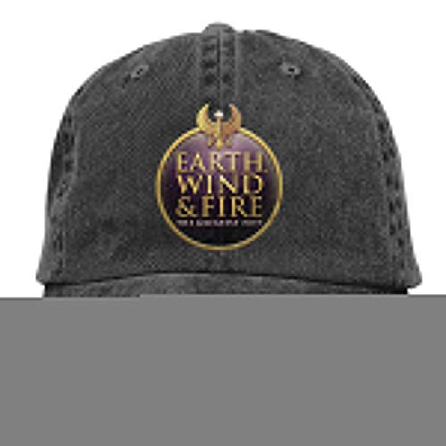 Earth Wind & Fire Unisex Adjustable Hat,Black Cap -