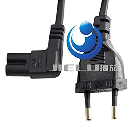 Color: 3M 5PCS Calvas 5PCS EU European Germany Power Extension Cable Cord Wire Eu Plug To Elbow IE320 C7 For TV,Printers,CamerasPS4,PS3 1M//2M//3M//5M