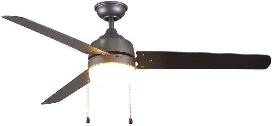 "Home Decorators Collection Carrington 60"" Natural Iron Ceiling Fan"