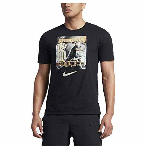 Nike Kyrie Irving Cavs basketball Pen & pixel t-shirt nero