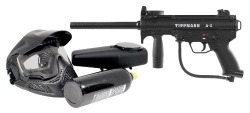 (Tippmann A-5 PowerPack .68 Caliber Paintball Marker Kit)