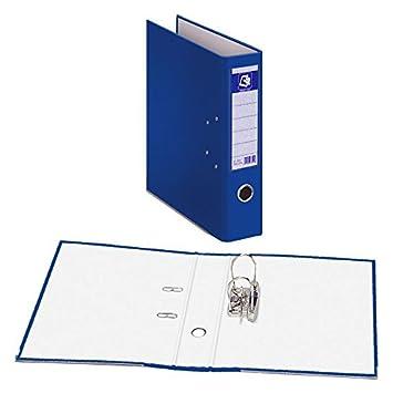 Archivador PRAXTON Azul, Folio Ancho 70 mm.: Amazon.es: Oficina y papelería