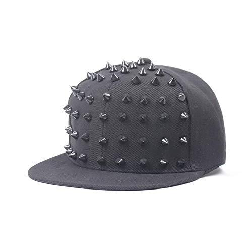 Amazon.com  MAGA 1 Unisex Punk Hedgehog Hat Personality Jazz Snapback Spike  Studded Rivet Spiky Baseball Cap for Hip Hop Rock Dance  Kitchen   Dining 565566afe916