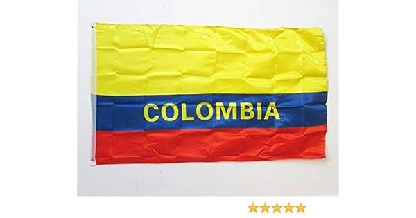 AZ FLAG Bandera de Colombia 150x90cm en Raso - Bandera Colombiana ...