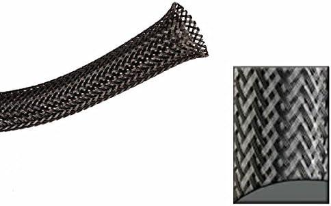 Keep It Clean 13953 Wire Loom 3//4 Carbon Ultra Wrap Wire Loom 10 Feet