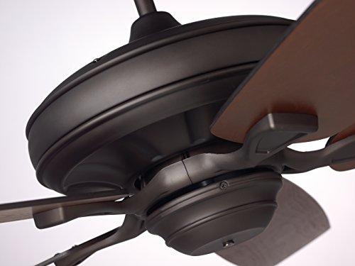 Emerson Ceiling Fans CF784ORB Carrera, 60-Inch Indoor Fan, Light Oil Bronze