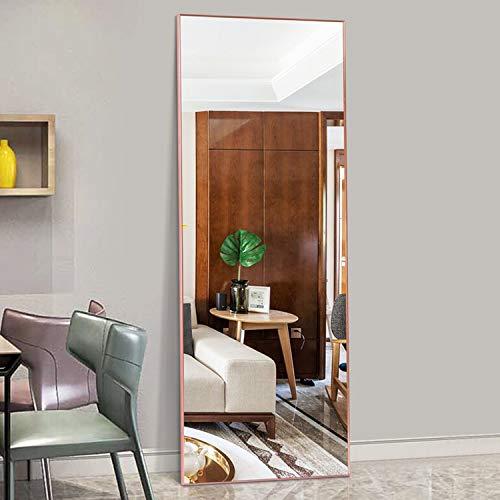 Amazon.com: Hans&Alice Full Length Floor Mirror Bedroom, Dressing ...