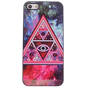 LIMME- Night Sky Triangle Design Aluminium Hard Case for iPhone 4/4S