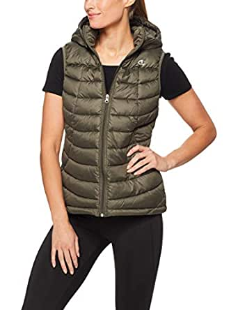 Champion Women's Powertrain Puffer Vest, Six Iron, X-Small