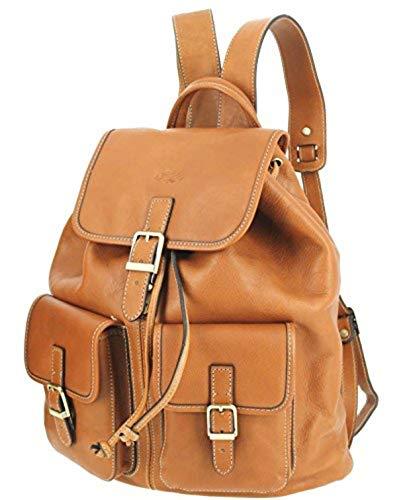 Katana, sac à dos en cuir de vachette, or K 32543