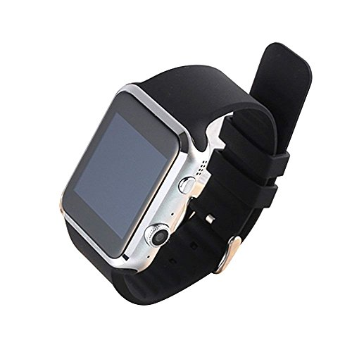 PowerLead-Pwah-A9S-Bluetooth-Smart-Watch-For-Apple-iPhone-IOS-Android-Smart-Phone-with-tRate-Detect-Lower-Blood-Pressure-and-Blood-Lipid-2-Million-Camera-Support-Gsm-Gprs-85090018001900-Black