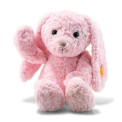 (Steiff Soft Cuddly Friends Tilda Bunny Rabbit, Pink, 13 Inches)