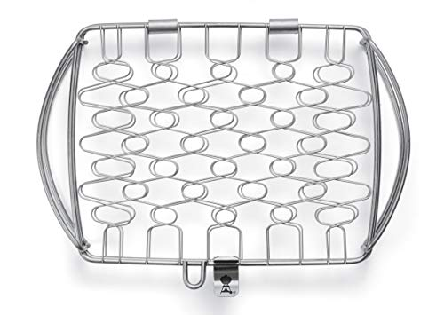 Weber 6470 Original Stainless Steel Fish Basket, Small (11.1 x 7.2 x 2)