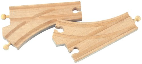 en Curved Switch Track (2 Pieces) : 50907 ()