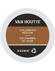 Van Houtte Colombian Medium Single Serve Keurig Certified Recyclable K-Cup pods for Keurig brewers, 30 Count