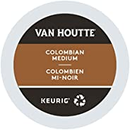 Van Houtte Colombian Medium Recyclable K-Cup Coffee Pods, 24 Count For Keurig Coffee Makers