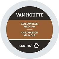 Van Houtte Colombian Medium Single Serve Keurig Certified Recyclable K-Cup pods for Keurig brewers, 24 Count