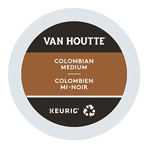 Van Houtte Colombian Medium K-Cup Pod, 30 Count {Imported from Canada}