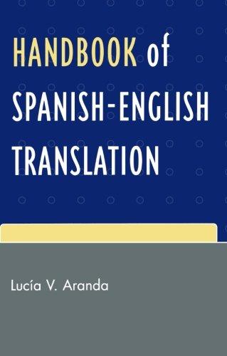 Handbook Of Spanish English Translation