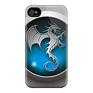 New Cute Funny Ice Dragon Clan Case Cover/ Iphone 4/4s Case Cover