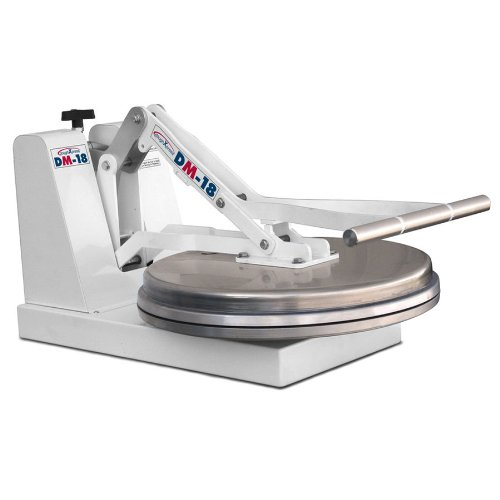 DoughXpress DM-18NH Manual Cold Dough Press with 18'' Platens, 18'' Width x 15'' Height x 28-1/8'' Depth