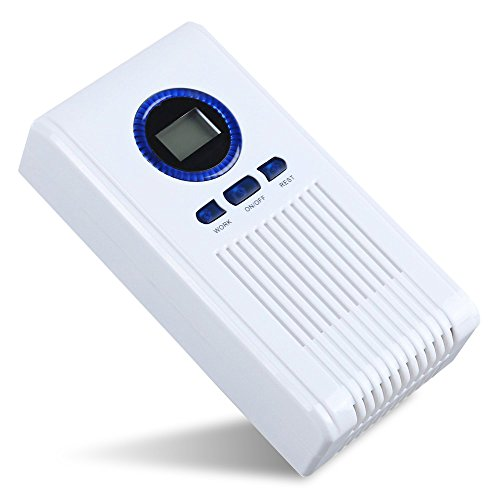 Portable Air Purifier Ozone Generator Toilet Bedroom Shoe Racks Disinfection Machine with LED Display and Timing Function