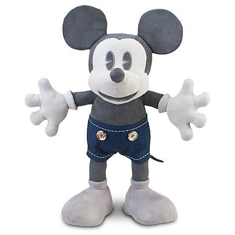 (D23 Exclusive 25th Anniversary Mickey Mouse Plush Toy -- 18'' H by Disney)