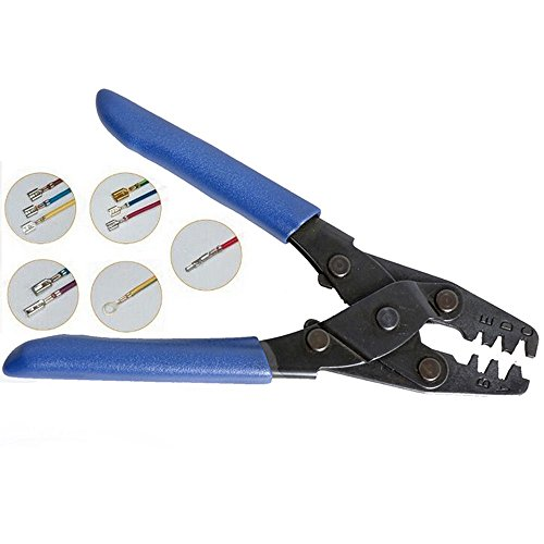 Wire Stripper and Cutter,TBvechi 22-10AWG Electrical Harness Terminal Plier Crimper Wire Stripper Crimping Tool by TBvechi (Image #1)