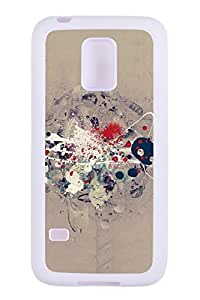 Generic Custom Picture Painting Patterns TPU Rubber Snap On Skin Cover Back Cell Phone Case For Samsung Galaxy S5 Mini by mcsharks