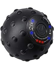 LANDWIND vibrierender Massageball 4. Gang High Intensity Yoga Fitness Elektrische Massagerolle für Muskel und Plantar, Wiederaufladung mit Netzteil, Schmerzlinderung, Muskelspannung