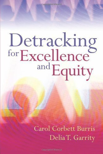 Detracking for Excellence and Equity by Carol Corbett Burris Published by Association for Supervision & Curriculum Development (2008) Paperback