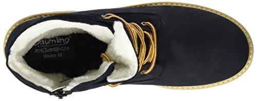 Däumling Unisex Adults' Aiden Boots Blue (Turino Ozean 47) e02Tr4gH