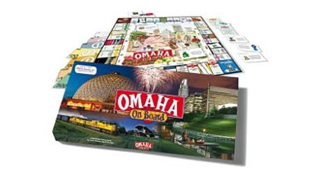 Omaha on Board a Real Estate Trading Game by Fat Brain Toys