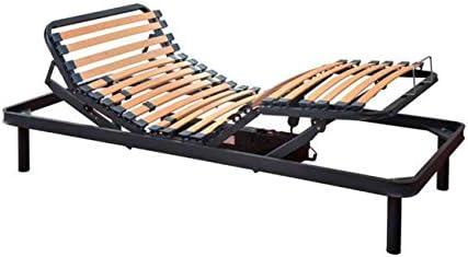 SUENOSZZZ- Somier electrico articulado. (Ayudas tecnicas geriatricas) Mod Confort. Cama 150x200 cm. Incluye Patas. Metalica.