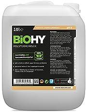 BiOHY Bekleding reiniger (10 Liter Busje) | Ideaal voor autostoelen, banken, matrassen etc. | Ook geschikt voor wasmachines (Polsterreiniger)