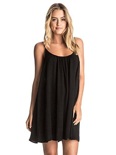 Roxy Junior's Windy Fly Away Cover Up Dress, True Black, Medium