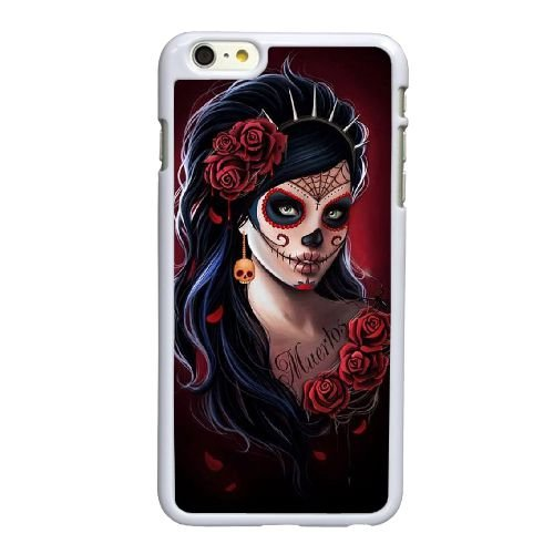 Tag der Toten 010 iPhone 6 6S 4,7-Zoll-Handy-Fall hülle weiß R5J6ZAFPQH