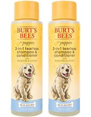 Burt's Bees for Dogs FFP9400AMZ All-Natural Tearless 2 in 1 Shampoo and Conditioner, Pack of 2